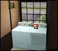 Washing and drying machine in The Sims 3
